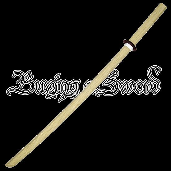 White Oak Daito Sword