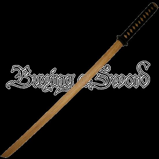 Natural Wood Bokken Sword