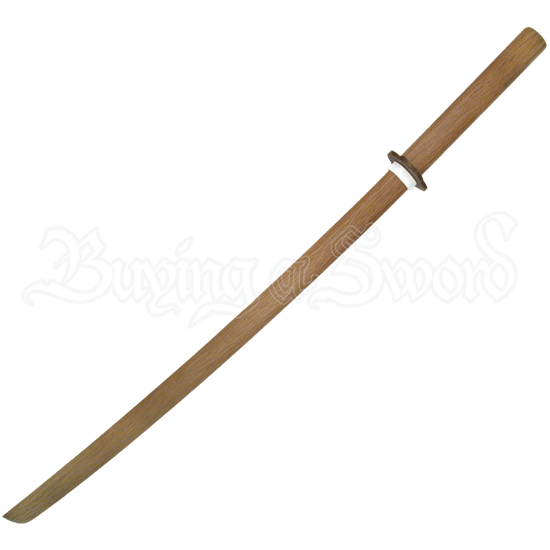 Natural Wood Daito Sword