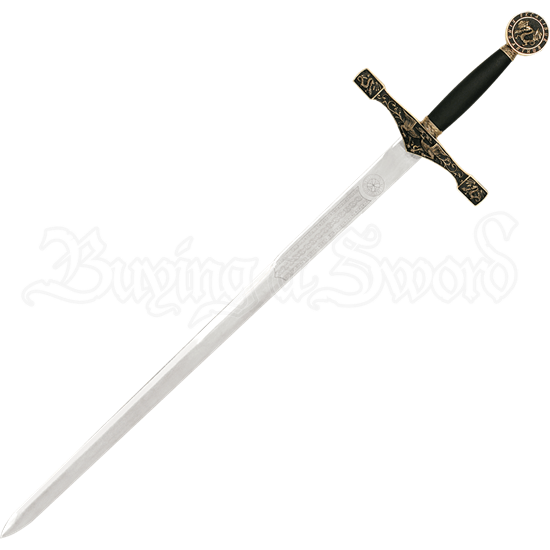 Brass-Hilt Excalibur Sword