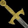 Gold Templar Longsword