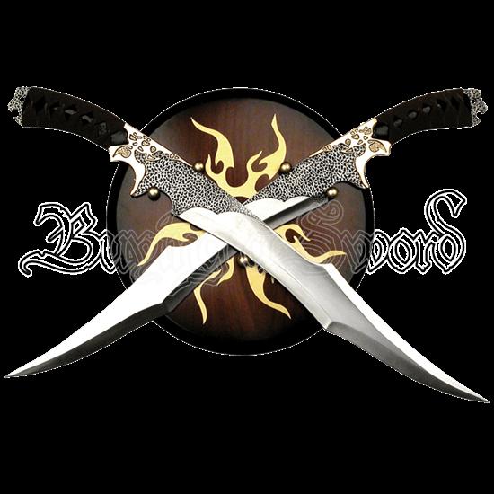 Elf Warrior Dual Swords