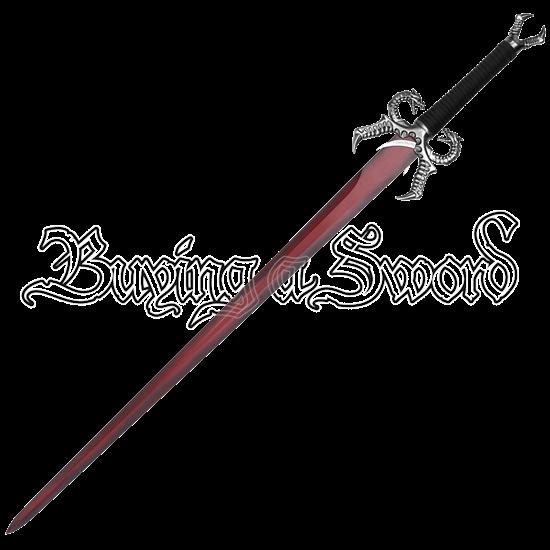 Red Dragon Sword