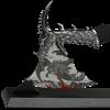 Silver Dragon Fantasy Axe