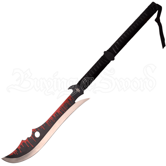 Blood Drip Fantasy Short Sword