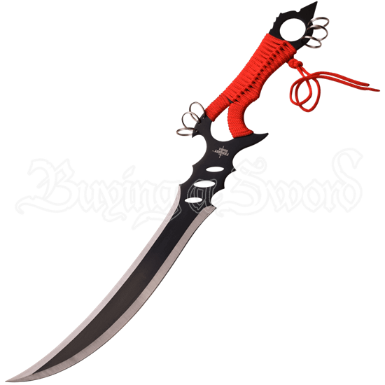 Sound of Stillness Red Short Sword