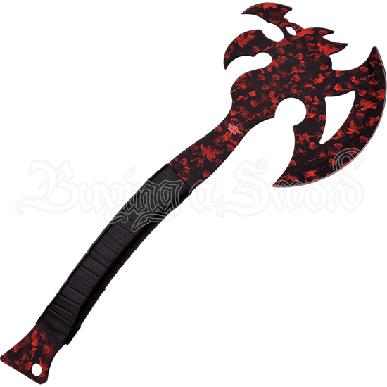 Red Dragon Claw Axe