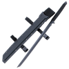 Matte Black Ninja Sword