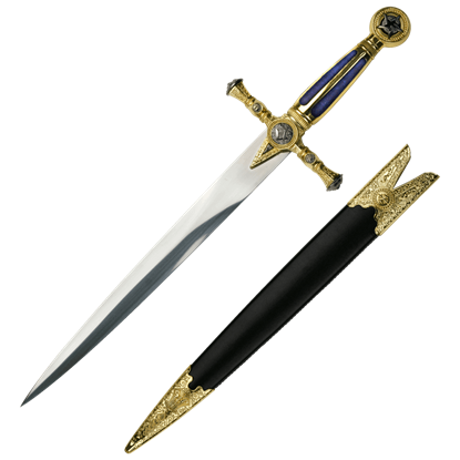 Blue Masonic Short Dagger