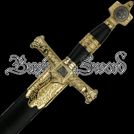 Black King Solomon Dagger