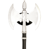Two-Blade Fantasy Fighting Axe