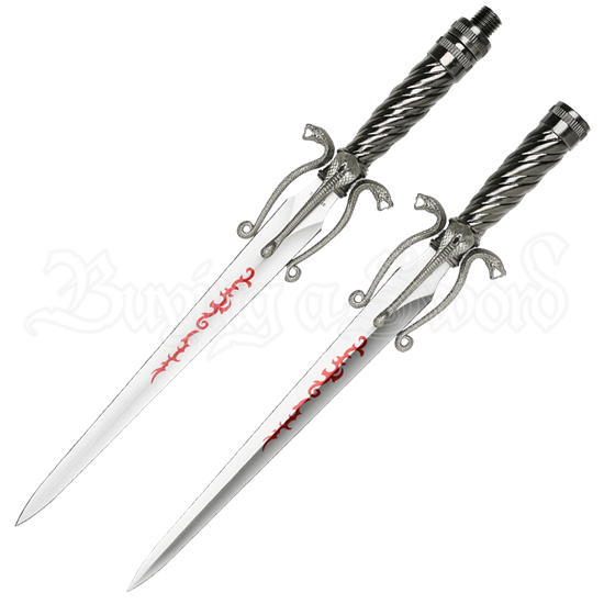 Double-Bladed Cobra Sword