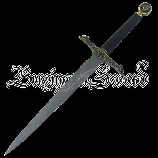Heraldic Lion Medieval Dagger