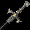 Knights Templar Sword with Sheath
