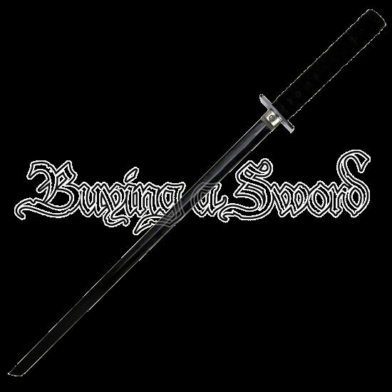 Traditional Black Ninja Sword