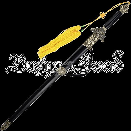 Cornsilk Tassel Tai Chi Sword