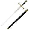 Gold-Hilt Excalibur Sword