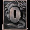 Dragon Etched Ninjato