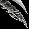 Silver Bladed Finger Armor