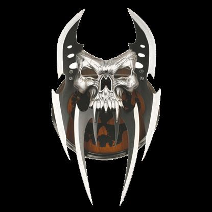 Skull Mayhem Hand Blade
