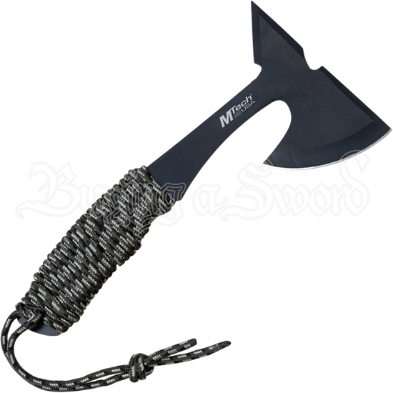 Cord Wrapped Hand Hatchet