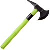 Green Tactical Battle Axe