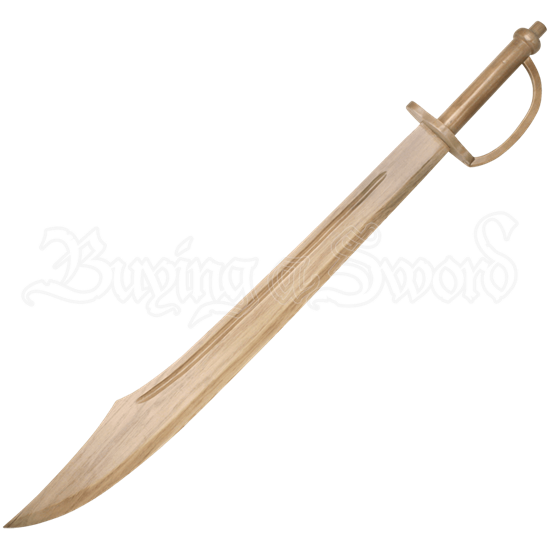 Wooden Pirate Scimitar