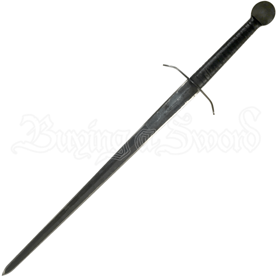 Rough Medieval Two-Handed Sword