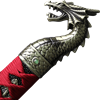 Red Handled Dragon Katana
