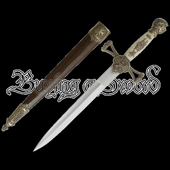 Brass Knight Dagger