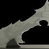 Silver Dragon Short Sword