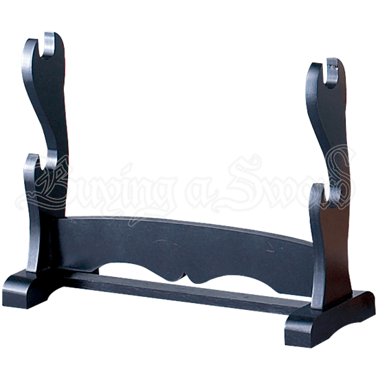 Double Tier Table Top Sword Stand