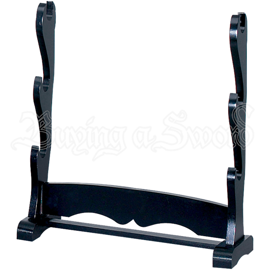 Triple Tier Table Top Sword Stand
