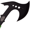 Black Steel Zombie Hand Axe