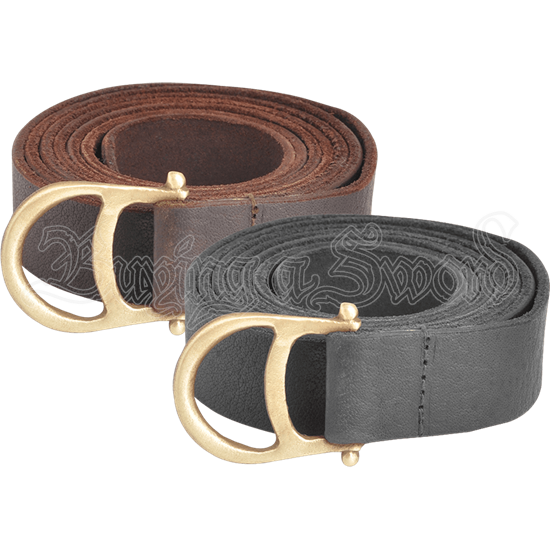Diana Leather Ring Belt