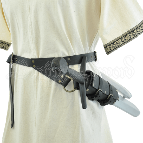 LARP Sword and Dagger Belt