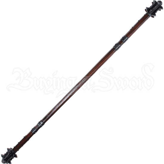 Double-Headed LARP Staff Mace