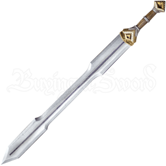 Dwarf Double Edge Long LARP Sword