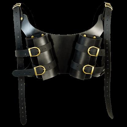 Dual LARP Sword Back Harness