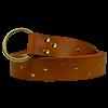 Zig Zag Studded Ring Belt
