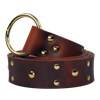 Knights Studded Ring Belt