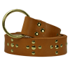 Crusader Cross Ring Belt