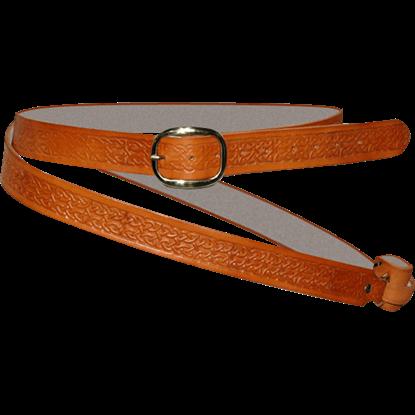 Celtic Double Wrap Sword Belt