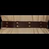 Studded Brown Buckle Belt