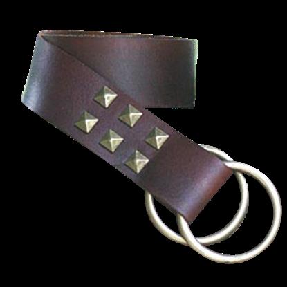 Studded Ring Belt
