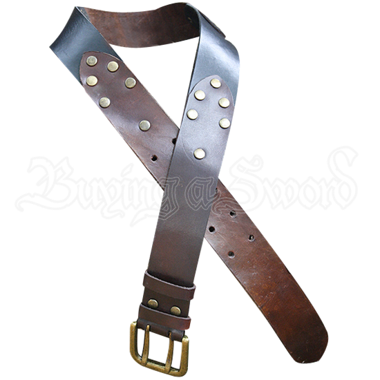 Riveted Leather Belt