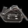 Leather Broadsword Frog - Black