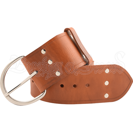 Warriors Studded Belt