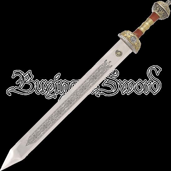 Bronze Hilt Julius Caesar Sword