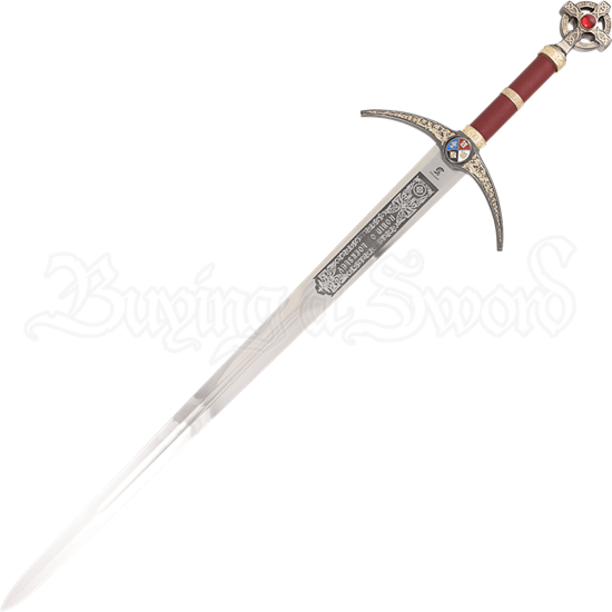Gold Robin Hood Sword